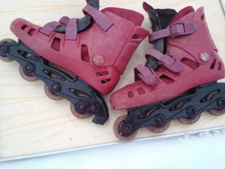 роликовые коньки детские. Сумы. фото 1