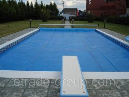 Солярная пленка для бассейна летнее накрытие для бассейна Чехия. Киев. фото 1