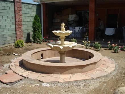 Садовый фонтан – украшение сада или парка обречённое постоянно находиться в конт. Запорожье, Запорожская область. фото 8