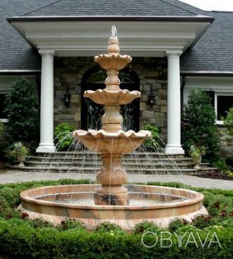 Садовый фонтан – украшение сада или парка обречённое постоянно находиться в конт. Запорожье, Запорожская область. фото 1