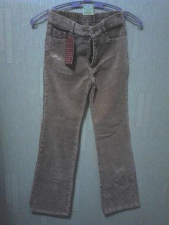 Продаю новые вельветовые штаны, брюки,9-10лет,размер-34 (L1),130-136см. Киев. фото 1