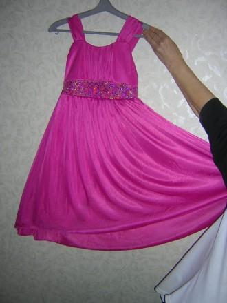 Платье нарядное малинового цвета Samantha says. Новое. Киев. фото 1