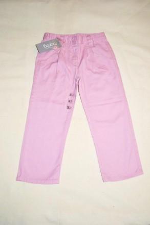Стильные розовые джинсы Bazic для девочки 3-4 г. Чаплинка. фото 1