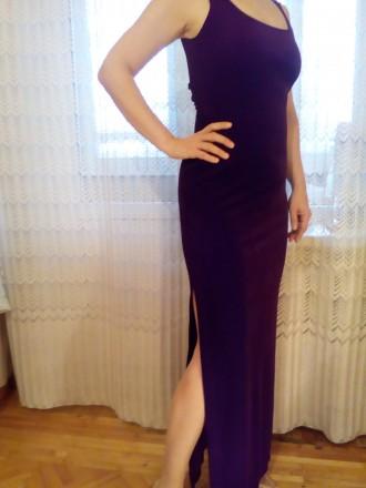 Продам элегантное вечернее платье. Стрейч-велюр.. Цвет гнилая вишня.По бокам раз. Одесса, Одесская область. фото 5