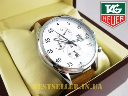 Сделайте себе приятный подарок - швейцарские часы Tag Heuer SpaceX Silver/White . Киев, Киевская область. фото 6