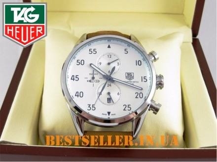 Сделайте себе приятный подарок - швейцарские часы Tag Heuer SpaceX Silver/White . Киев, Киевская область. фото 4
