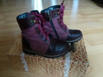 Продам кожаные ортопедические ботиночки на девочку. Киев. фото 1