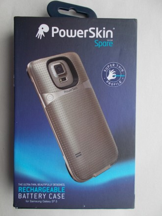 Чехол- аккумулятор PowerSkin Spare for Samsung Galaxy S5.. Северодонецк. фото 1