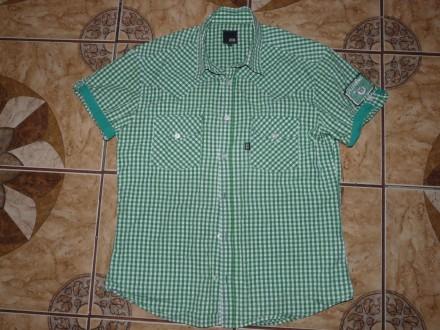 Тениска летняя трекинговая Jack& Jones premium зелёная size хL/48-50. Черкассы. фото 1