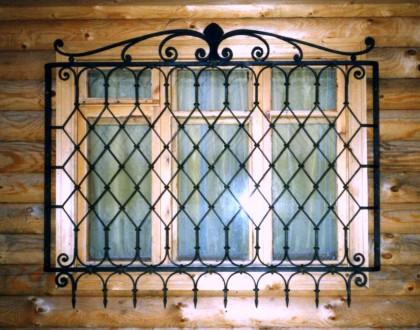 Изготовление решеток простых и кованых  на окна любой сложности.Также выезд маст. Кривой Рог, Днепропетровская область. фото 2