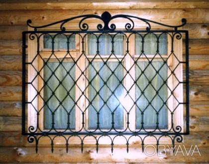 Изготовление решеток простых и кованых  на окна любой сложности.Также выезд маст. Кривой Рог, Днепропетровская область. фото 1