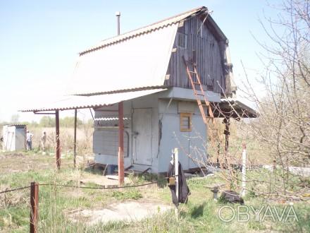 Продається дачний будиночок (не капітальний) 3х2м, висота-2,40 (4,65)м. Виготовл. Березань, Киевская область. фото 1
