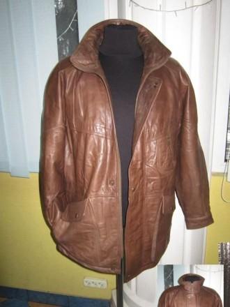 Оригинальная утеплённая мужская куртка ECHTES LEDER. 100% кожа. Лот 49 Большая,. Ужгород, Закарпатская область. фото 3