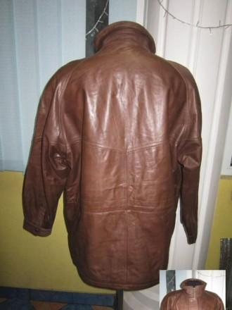 Оригинальная утеплённая мужская куртка ECHTES LEDER. 100% кожа. Лот 49 Большая,. Ужгород, Закарпатская область. фото 4