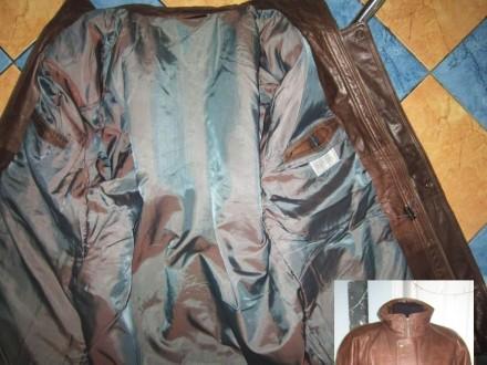 Оригинальная утеплённая мужская куртка ECHTES LEDER. 100% кожа. Лот 49 Большая,. Ужгород, Закарпатская область. фото 5