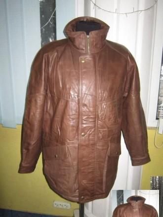 Оригинальная утеплённая мужская куртка ECHTES LEDER. 100% кожа. Лот 49 Большая,. Ужгород, Закарпатская область. фото 2