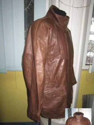 Оригинальная утеплённая мужская куртка ECHTES LEDER. 100% кожа. Лот 49 Большая,. Ужгород, Закарпатская область. фото 8