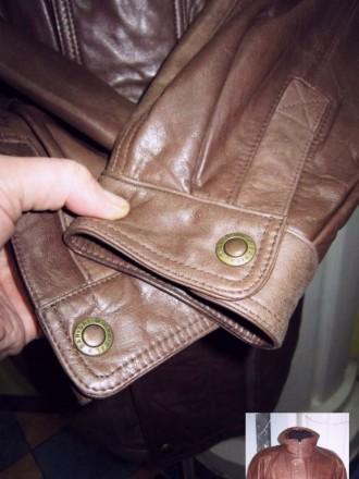 Оригинальная утеплённая мужская куртка ECHTES LEDER. 100% кожа. Лот 49 Большая,. Ужгород, Закарпатская область. фото 6