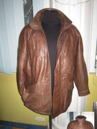 Оригинальная утеплённая мужская куртка ECHTES LEDER. 100% кожа. Лот 49 Большая,. Ужгород, Закарпатская область. фото 9