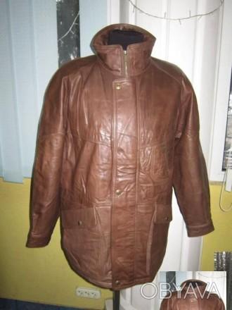 Оригинальная утеплённая мужская куртка ECHTES LEDER. 100% кожа. Лот 49 Большая,. Ужгород, Закарпатская область. фото 1