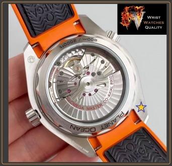 OMEGA - Seamaster Planet Ocean 600M Co-Axial Master Chronometer Black Steel 43,5. Киев, Киевская область. фото 6