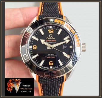 OMEGA - Seamaster Planet Ocean 600M Co-Axial Master Chronometer Black Steel 43,5. Киев, Киевская область. фото 3