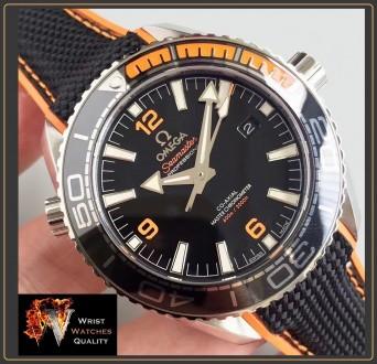 OMEGA - Seamaster Planet Ocean 600M Co-Axial Master Chronometer Black Steel 43,5. Киев, Киевская область. фото 8