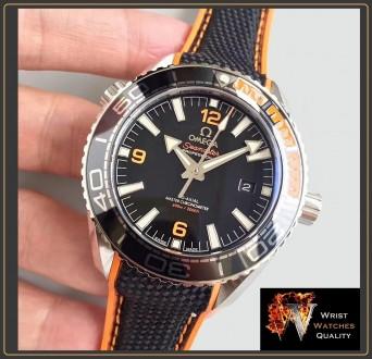 OMEGA - Seamaster Planet Ocean 600M Co-Axial Master Chronometer Black Steel 43,5. Киев, Киевская область. фото 5