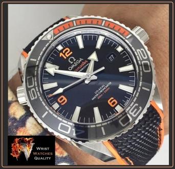 OMEGA - Seamaster Planet Ocean 600M Co-Axial Master Chronometer Black Steel 43,5. Киев, Киевская область. фото 12