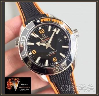 OMEGA - Seamaster Planet Ocean 600M Co-Axial Master Chronometer Black Steel 43,5. Киев, Киевская область. фото 1