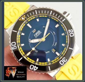 Oris - AQUIS Great Barrier Reef Limited Edition II Automatic Stainless steel 46 . Киев, Киевская область. фото 6