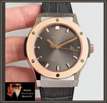HUBLOT - Classic Fusion Automatic Gold bezel Titanium - 45mm Reference: 511.NO.. Киев, Киевская область. фото 3