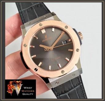 HUBLOT - Classic Fusion Automatic Gold bezel Titanium - 45mm Reference: 511.NO.. Киев, Киевская область. фото 2