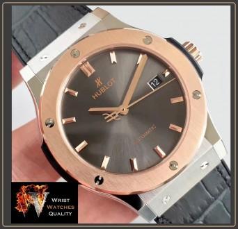 HUBLOT - Classic Fusion Automatic Gold bezel Titanium - 45mm Reference: 511.NO.. Киев, Киевская область. фото 8