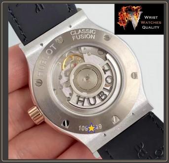 HUBLOT - Classic Fusion Automatic Gold bezel Titanium - 45mm Reference: 511.NO.. Киев, Киевская область. фото 6
