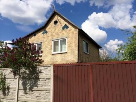Галинка, дача, 2х пов. цегляний будинок 78 кв.м. Бородянка. фото 1