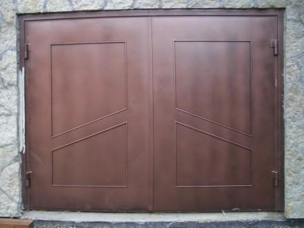 Предприятие изготовит гаражные ворота с металла 2мм,3мм,4мм под заказ любой слож. Кривой Рог, Днепропетровская область. фото 3
