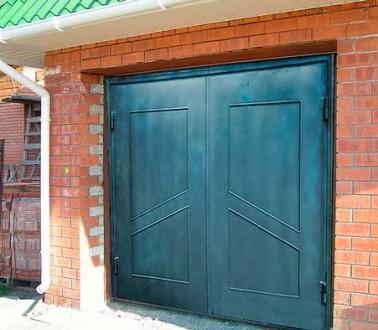 Предприятие изготовит гаражные ворота с металла 2мм,3мм,4мм под заказ любой слож. Кривой Рог, Днепропетровская область. фото 2