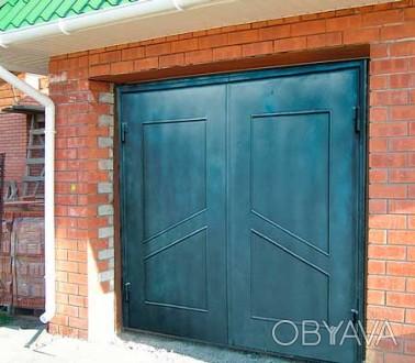 Предприятие изготовит гаражные ворота с металла 2мм,3мм,4мм под заказ любой слож. Кривой Рог, Днепропетровская область. фото 1