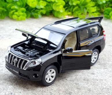 Toyota Land Cruiser Prado. Коллекционная модель. 1:32. Днепр. фото 1