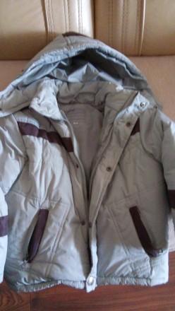 Зимняя куртка + жилетка цигейка+комбинезон. Одесса. фото 1