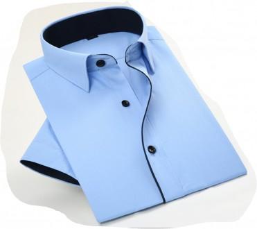 Рубашка с коротким рукавом шведка. Киев. фото 1
