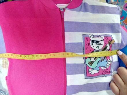 новый фирменный трикотажный песочник для девочки, тонкий трикотаж для лета  ш. Киев, Киевская область. фото 4