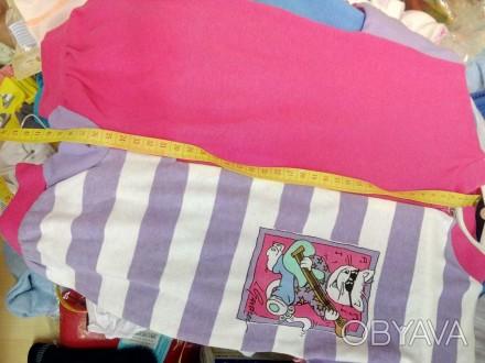 новый фирменный трикотажный песочник для девочки, тонкий трикотаж для лета  ш. Киев, Киевская область. фото 1