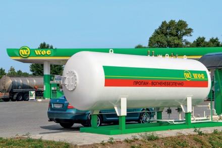 Газ WOG. Киев. фото 1