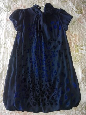 Продам красивое платье 44 размера. Материал верха шифон, подшита стрейчевая подк. Конотоп, Сумская область. фото 2