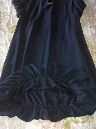 Продам красивое платье 44 размера. Материал верха шифон, подшита стрейчевая подк. Конотоп, Сумская область. фото 4