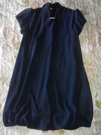 Продам красивое платье 44 размера. Материал верха шифон, подшита стрейчевая подк. Конотоп, Сумская область. фото 3