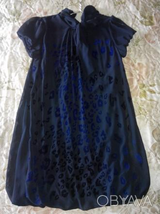 Продам красивое платье 44 размера. Материал верха шифон, подшита стрейчевая подк. Конотоп, Сумская область. фото 1
