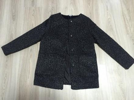 Модное демисезонное пальто для девочки George в стиле Zara. Киев. фото 1